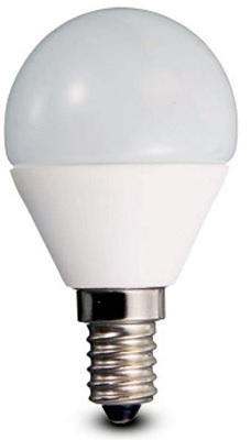 Lampada Sfera Led 5,3w E14 Luce Natura 485 Lumen DURALAMP