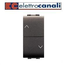 Doppio Pulsante Interbloccato 10A Elettrocanali