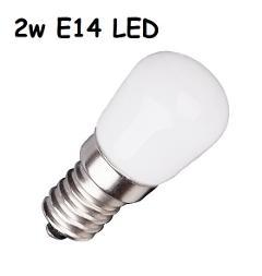 Lampada LED Piccola Pera E14 2w Luce Fredda 190 Lumen Iperled