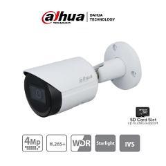 Telecamera Bullet IP 4 Megapixel 3,6mm con Slot per SD Card Dahua