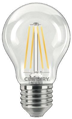 Lampada Goccia LED a Filamento E27 7w Luce Fredda 810 Lumen Kanlux