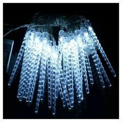 Stringa 40 Ghiaccioli LED BLU 4 Metri Uso Esterno STAR spa