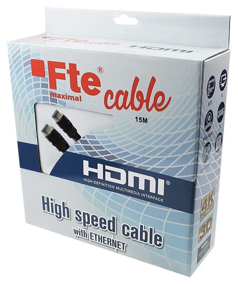 Cavo HDMI 2,0 High Speed 10 mt FTE Maximal