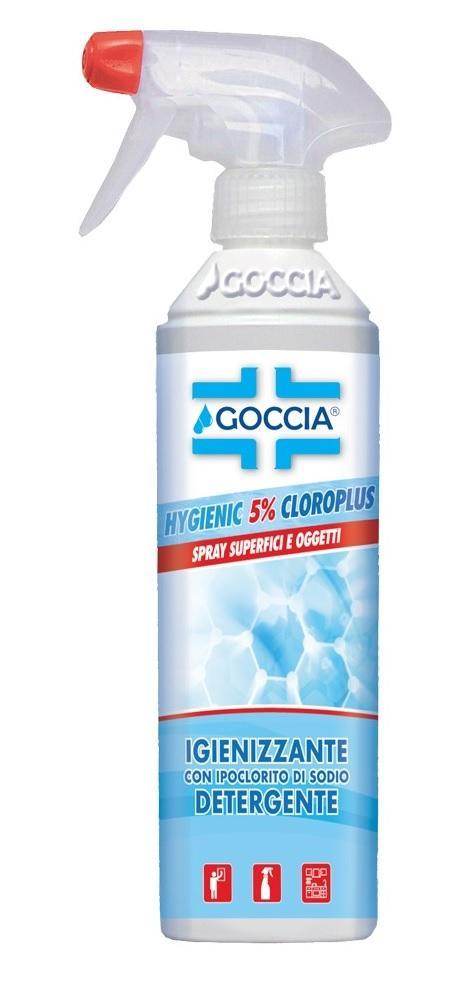 ACTIVE Detergente Spray 5% Cloroplus 500ml