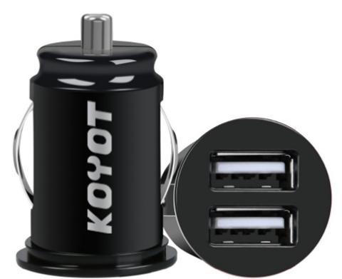 Adattatore 2 USB per Auto