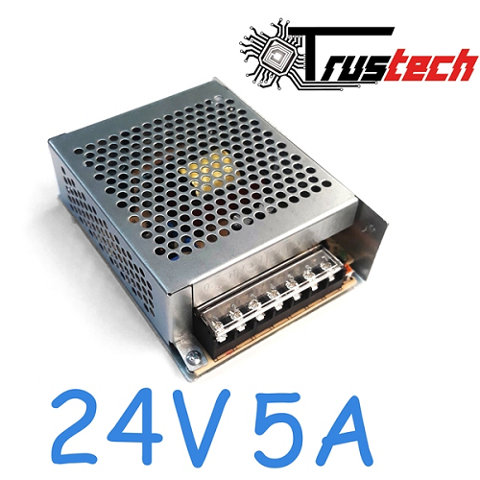 Alimentatore Switching 120W 24v 5A