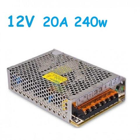 Alimentatore Switching 240W 12v 20A