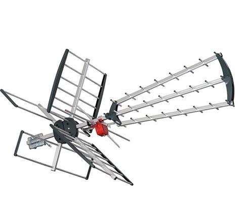 Antenna combinata UHF VHF con Filtro LTE 28 Elementi FTE Maximal