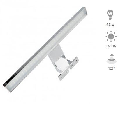 Applique LED 4,8w per Tolettina PRIS APQL-BANO