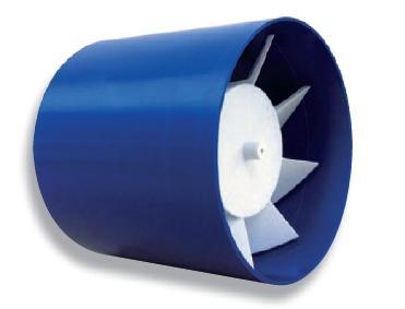 Aspiratore assiale da incasso 100mm ad espulsione diretta 15w 120 m3/h LUX