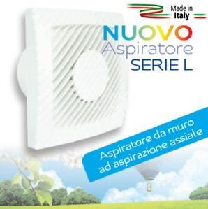 Aspiratore Serie L  Diam. 80 15w LUX