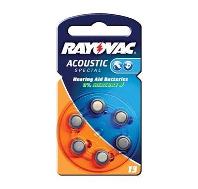 Batteria Zinc Air PR13 265mA per apparecchi acustici Rayovac
