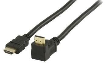Cavo HDMI 1,5mt con Ethernet connettore 270° Valueline