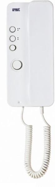 Citofono Elettronico Bianco Con Tasto Urmet Mirò
