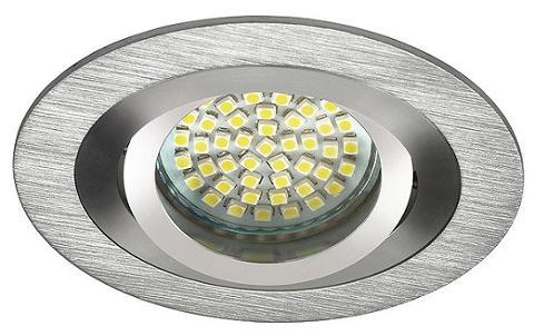 Faretto Incasso Rotondo Alluminio Diam 80 SEIDY CT-DTO50-AL