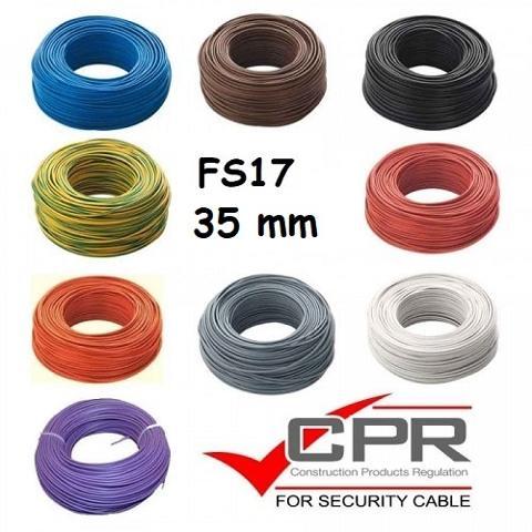 Filo Unipolare 1x35 Giallo Verde FS17  FS1735GV