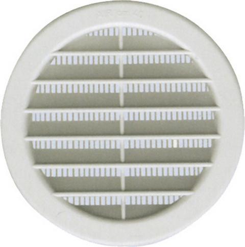 Griglia Areazione PVC con rete diam. 80