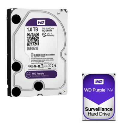 Hard Disk Western Digital 1000Gb Sata PURPLE per Videosorveglianza Western Digital