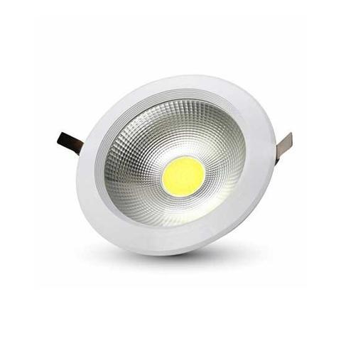 Incasso LED Bianco 10w Diam. 120 Luce Fredda