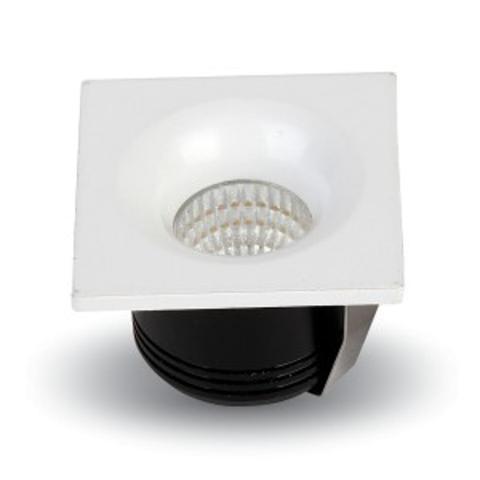Incasso Quadrato LED 3w V-TAC