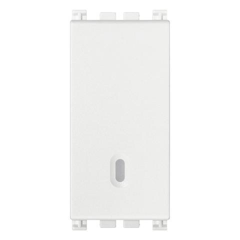 Interruttore 1P 16A Illuminabile Bianco Vimar
