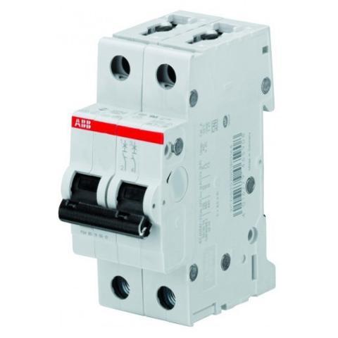 Interruttore Magnetotermico 2M 2x40A 4,5KA S202L ABB