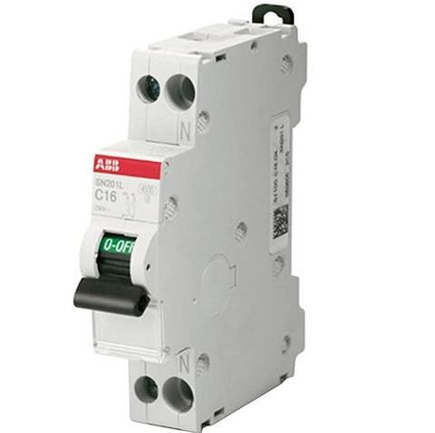 Interruttore Magnetotermico 2x20A, 1M ABB