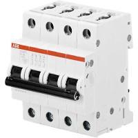 Interruttore Magnetotermico 6KA 4x50A S204C50 ABB