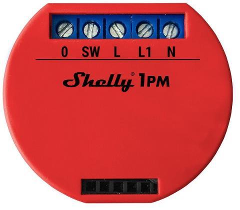 Interruttore Relè SMART WiFi 1 Canale con Misuratore Consumi Shelly SHELLY 1PM