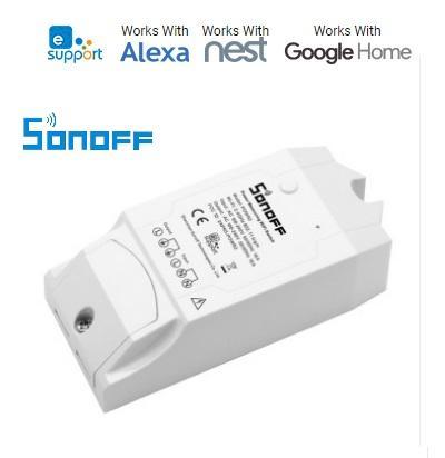 Interruttore WiFi 1 Canale 230V Con Misuratore di Consumo SONOFF