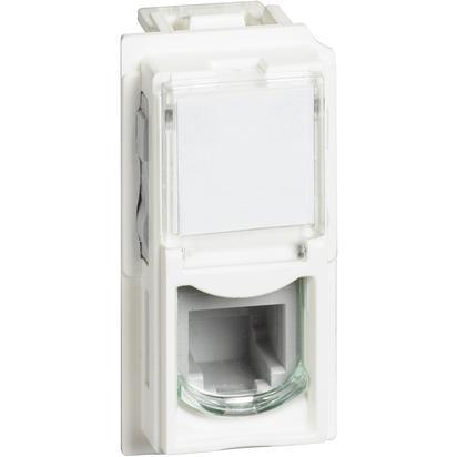 L.NOW Connettore RJ11 Bianco
