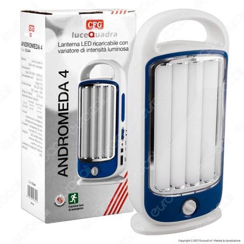 Lampada Emergenza LED 930 Lumen Andromeda 4 CFG