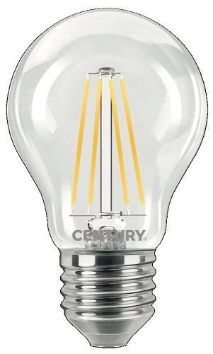 Lampada Goccia LED a Filamento E27 16w Luce Calda 2300 Lumen Century