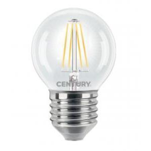 Lampada Mini Sfera Led Filamento E27 6w Luce Natura Century