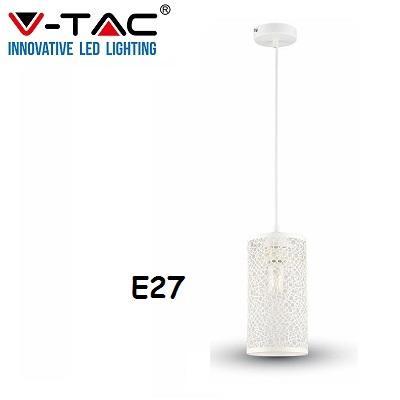 Lampadario Sospensione Bianco E27 V-TAC 3826