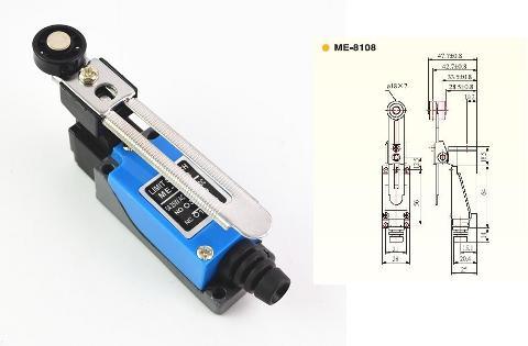 Micro Interruttore Fine Corsa 1 NC + 1 NO