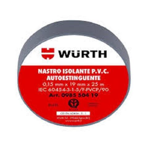 Nastro Isolante 19x25 Grigio Wurth