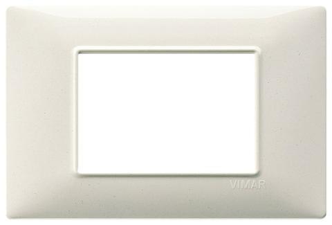 Placca 3m Tecnopolimero Bianco Granito Vimar