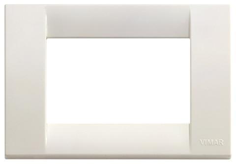Placca 3m Tecnopolimero Bianco Idea Vimar