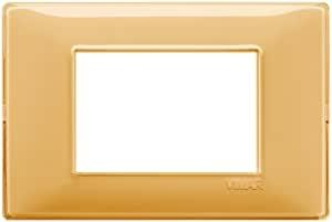 Placca 3m Tecnopolimero Reflex Ambra Vimar