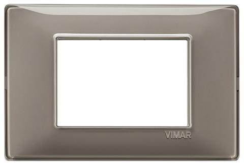 Placca 3m Tecnopolimero Reflex Cenere Vimar