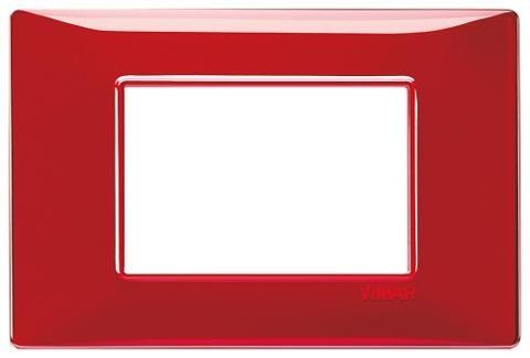 Placca 3m Tecnopolimero Reflex Rubino Vimar