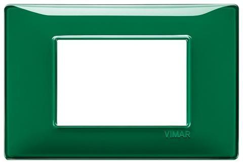 Placca 3m Tecnopolimero Reflex Smeraldo Vimar