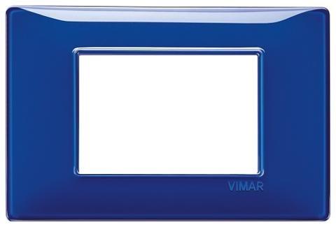 Placca 3m Tecnopolimero Reflex Zaffiro Vimar