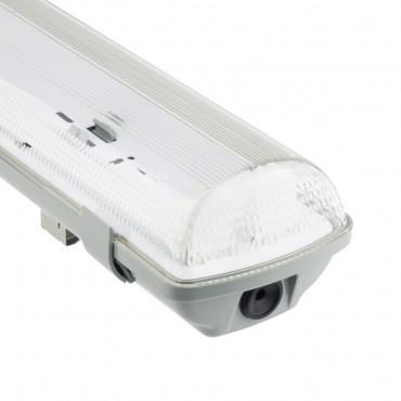 Plafoniera IP65 2x60cm Per neon LED