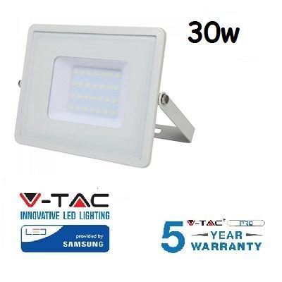 Proiettore Led 30W Luce Calda SLIM 2400 Lumen PRO