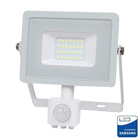 Proiettore Led 30W Luce Natura Con sensore movimento V-TAC