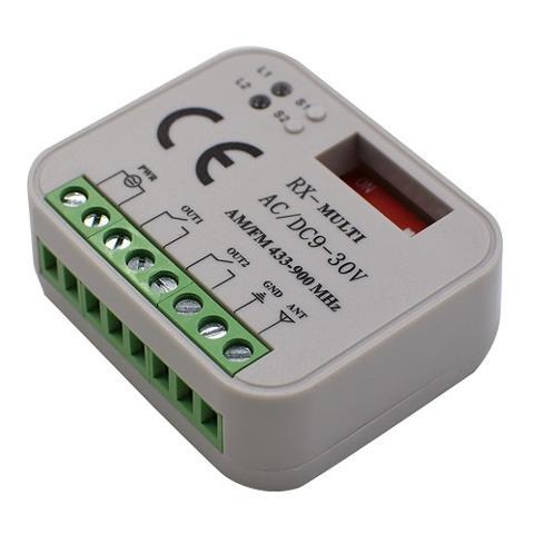 Ricevente Universale 433-868Mhz ac/dc 9-30V