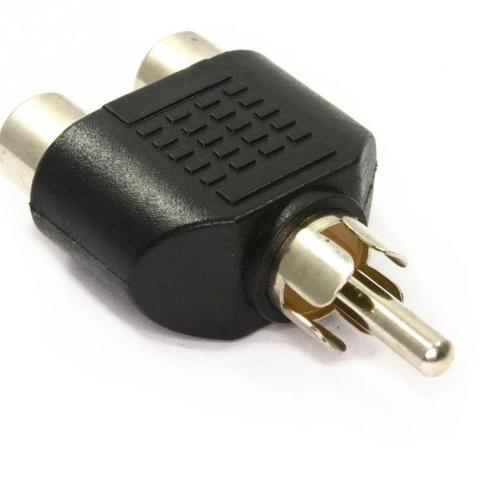 Sdoppiatore 1 Spina RCA / 2 Prese RCA