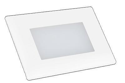Segnapasso Emergenza LED 1w per Scatola 503 70 Lumen 4000K CORTÈS Century CORTÈS
